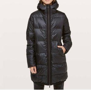 Lululemon cloudscape jacket long